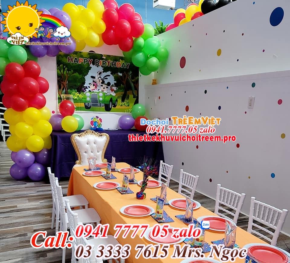Thu hút khách khi kinh doanh khu vui chơi trẻ em