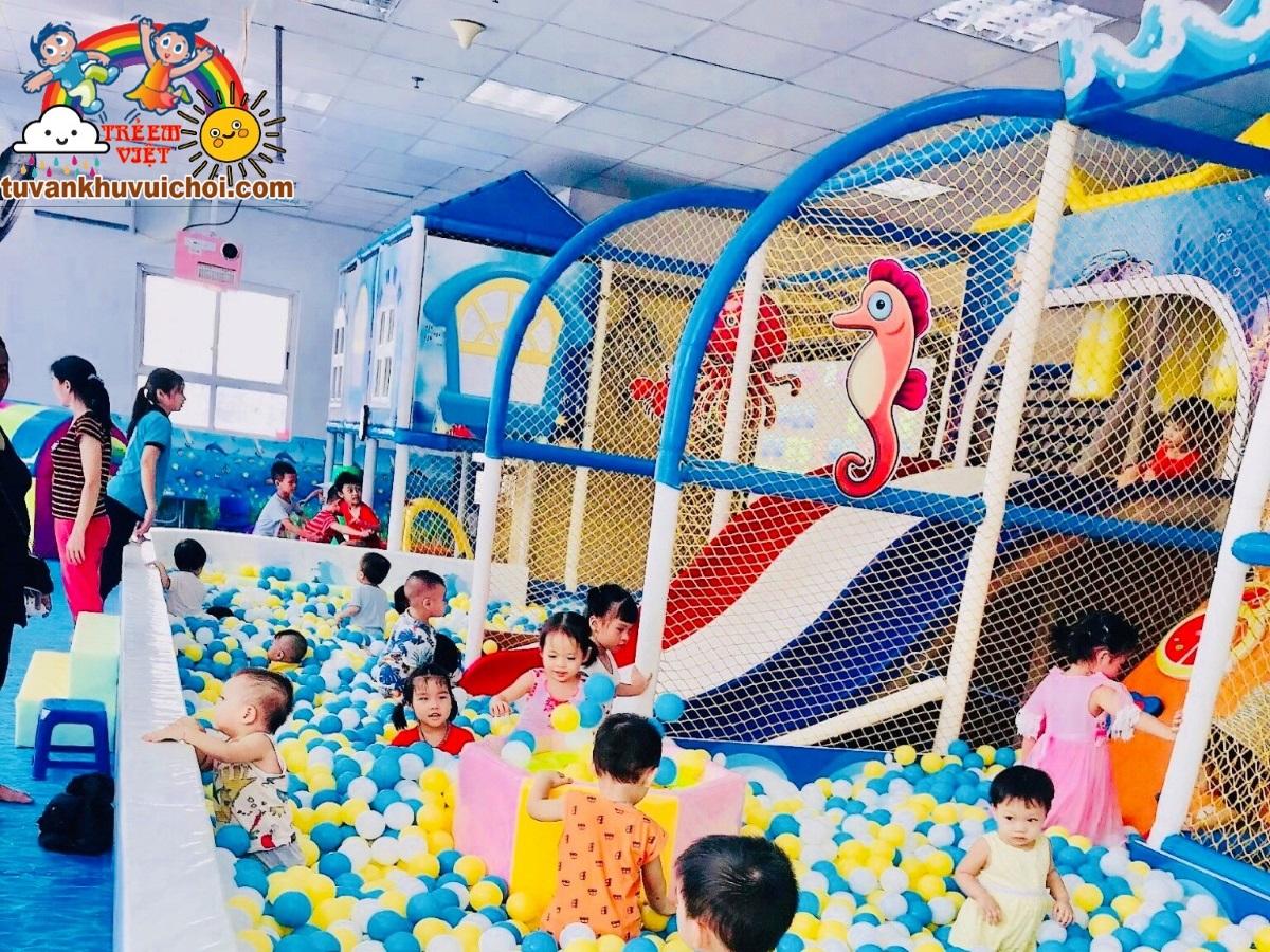 Thi công khu vui chơi trẻ em