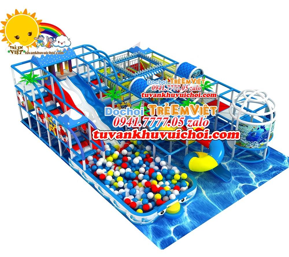 Khu vui chơi liên hoàn cao 3 tầng 1