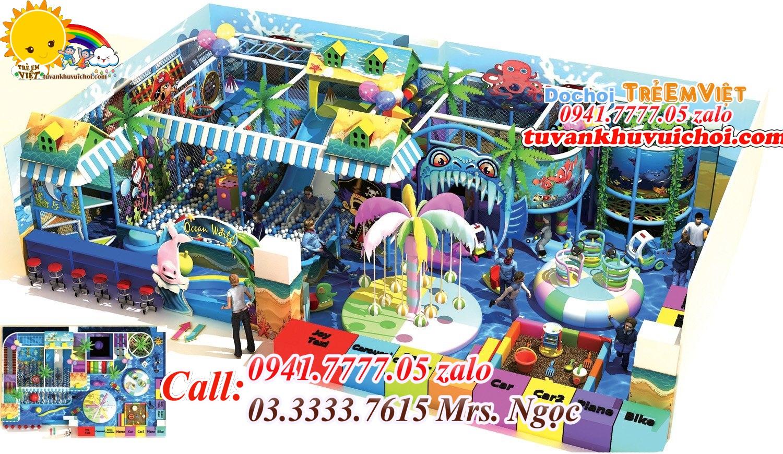 Cổng chào khu vui chơi trẻ em