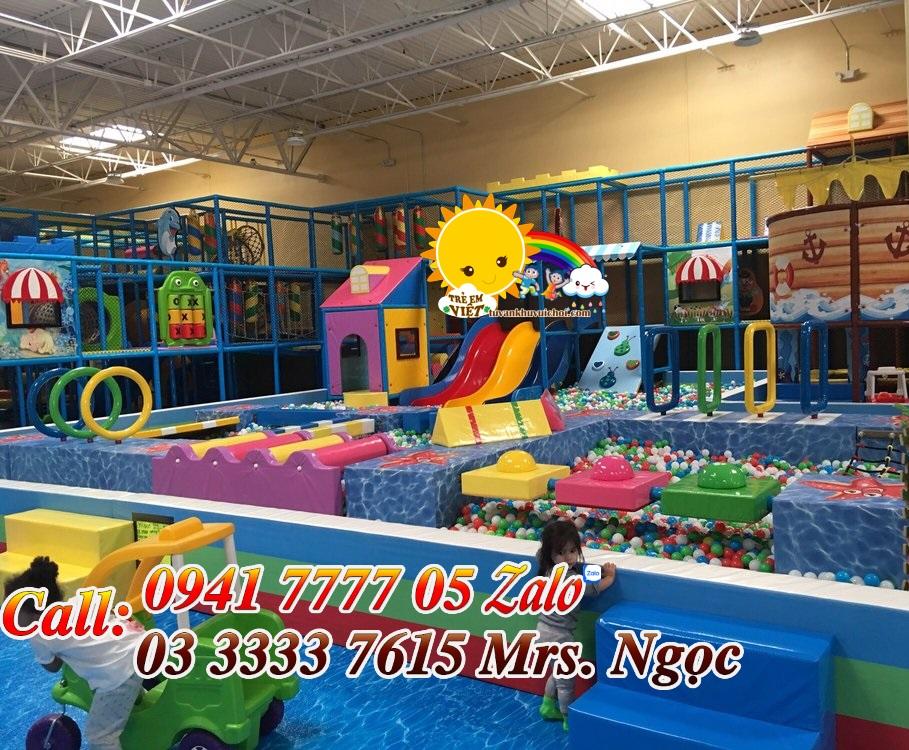 Mở khu vui chơi trẻ em ở nông thôn