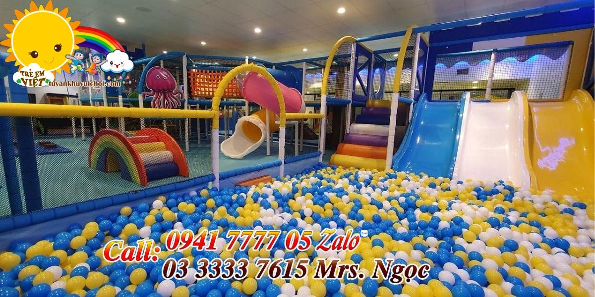 Kinh nghiệm mở khu vui chơi trẻ em