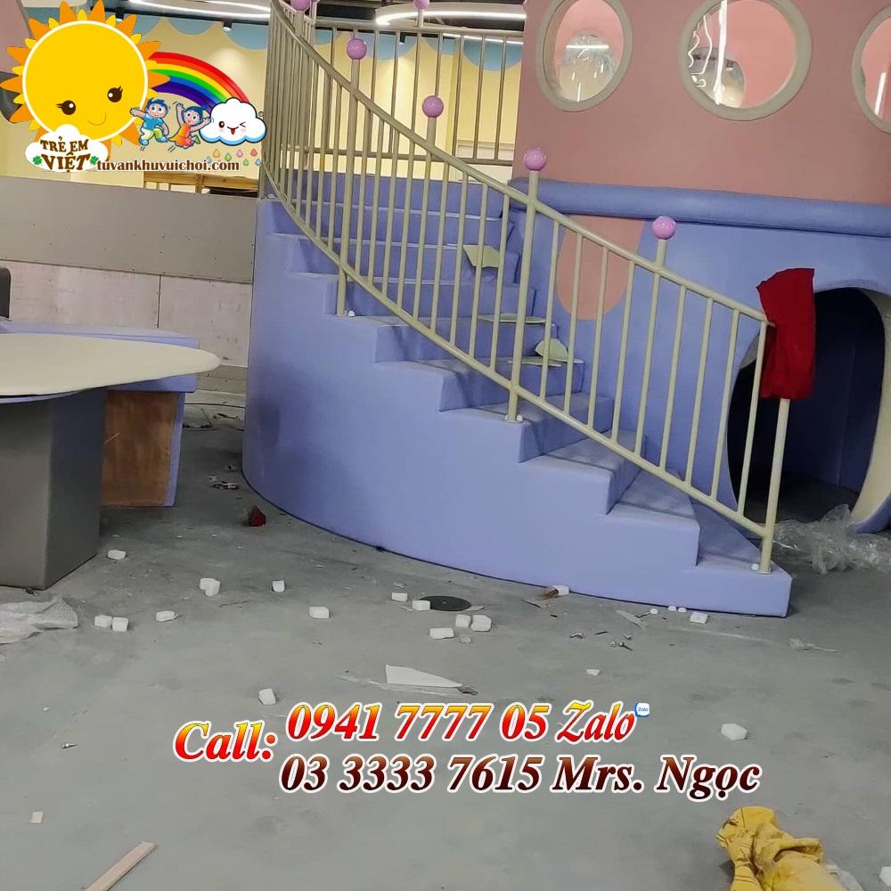Thi công nhà banh liên hoàn