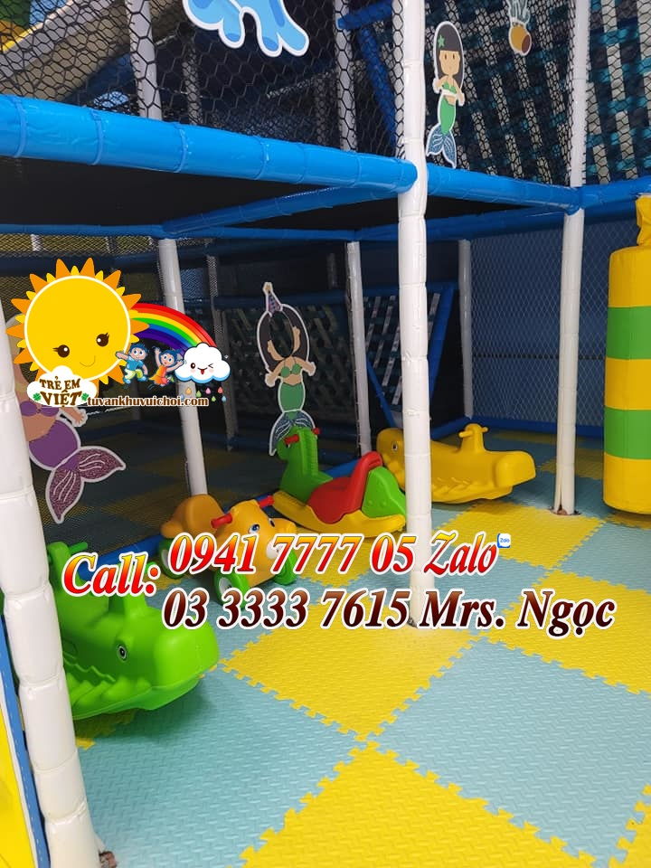 Mở khu vui chơi trẻ em