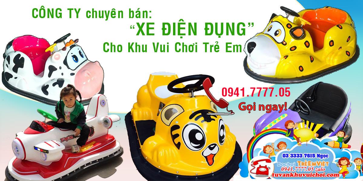TRẺ EM VIỆT chuyên cung cấp xe điện đụng trẻ em cho khu vui chơi, sản phẩm nhập khẩu nguyên đai nguyên kiện, phân phối chính hãng.