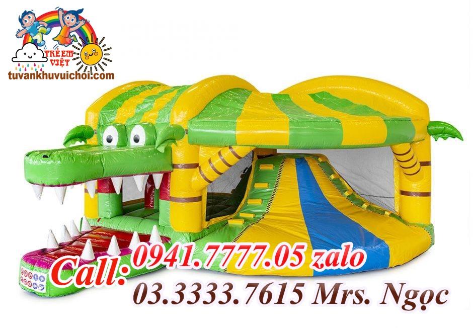 Nhà hơi cá sấu 3x4x3m