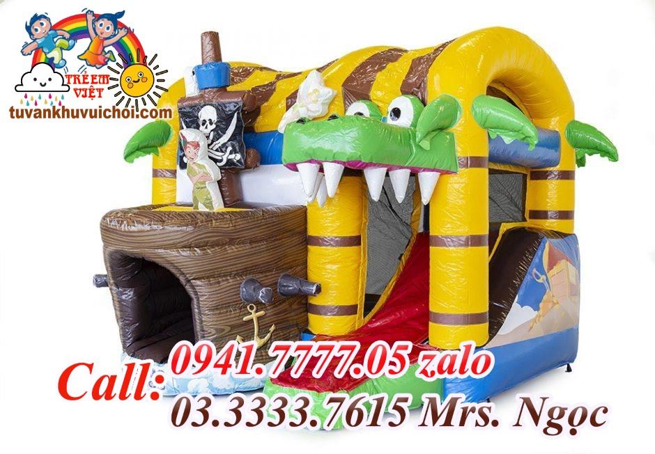 Nhà hơi cá sấu 3x4x4m