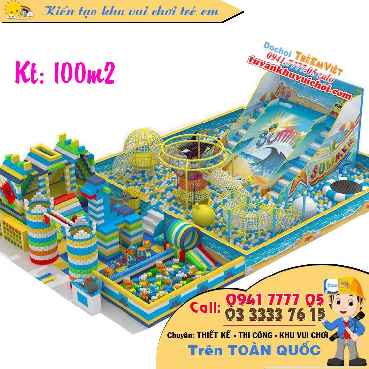 Mô hình nhà bóng kích thước: 100m2